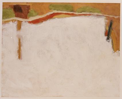Dene Quarry 7. 60 x 48.5 cms Acrylic on paper